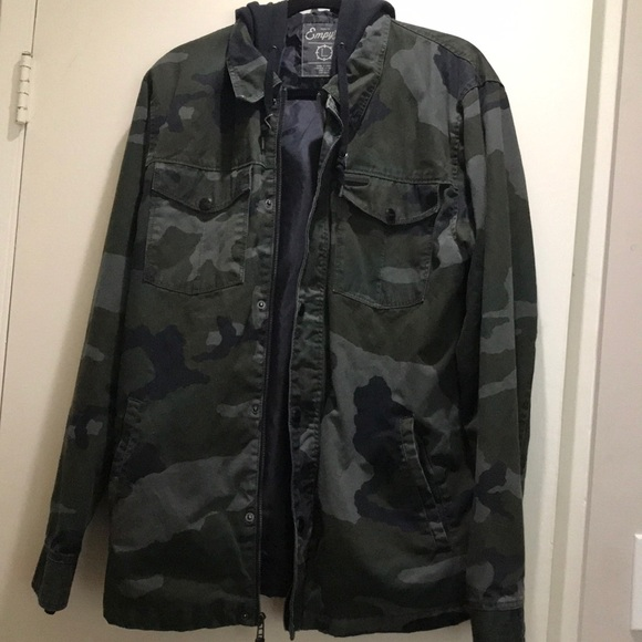 531784acd9ac0 Empyre Jackets & Coats | Camo Jacket | Poshmark